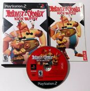 Asterix And Obelix Kick Buttix Sony Playstation 2 Ps2 2004 Complete Cib Tested