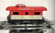 Pre War Marx Tinplate Refab Coffin Nyc 20102 Caboose/ Pre Owned