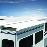 Sok Iii 81w Solid Black Rv Slide-out Awning W Full Case And Wind Deflector