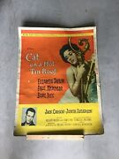 Rare Original Cat On A Hot Tin Roof 1958 - Priced To Sell — Movie Room