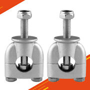 2pieces Universal Motorcycle Handlebar Risers Mount 22mm 7/8in Motocycle