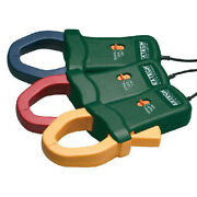 Extech Pq3120 R Y B 1000a Current Clamp Probes For Pq3350 Set Of 3