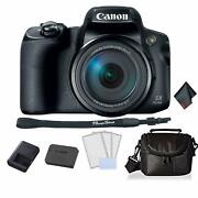 Canon Powershot Sx70 Hs Digital Camera Bundle With Carrying Case + Lcd Screen