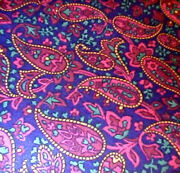 Longaberger Rare Retired Fathers Day Paisley Fabric- Shop Store For Unique Items
