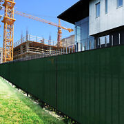 7ft Greenlarge Fence Privacy Screen 95 Blockage Mesh W/gromment