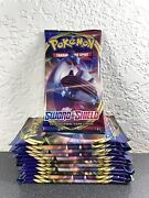 Pokemon Tcg Sword And Shield Base Lot Of 12 Booster Packs New Sealed Unweighed