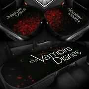 The Vampire Diaries Car Front Rear Seat Covers Protector Pad Auto Chair Cushion