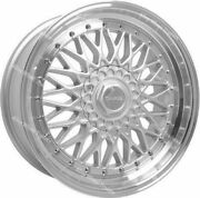 Alloy Wheels 16 Rs For Volkswagen Caddy Derby Polo Lupo Golf 4x100 Spl Ss
