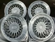 Alloy Wheels 16 Rs For Volkswagen Caddy Derby Polo Lupo Golf 4x100 Silver Ss