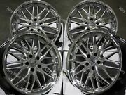 19 Silver 190 Alloy Wheels Fits Jeep Compass Cherokee Renegade 5x110 Pcd