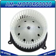 Hvac Heater Blower Motor With Fan Cage For Chevy Tahoe Gmc Sierra Pickup Car