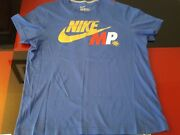 Nwot Manny Pacquiao Nike Mp Gold Foil T Shirt Filipino Mens Xl Just Do Itl