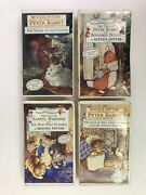 Beatrix Potter Vhs Tapes Peter Rabbit And Friends Collectors Edition Set Of 4