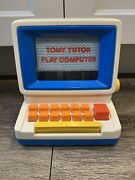 1985 Vintage Tomy Tutor Play Computer Educational Learning Toy Alphabet