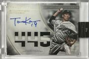 Limited To 1/1 Piece Masahiro Tanaka Direct Written Sign Patch 2017 Topps