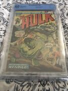 Incredible Hulk 180 Cbcs 6.0 Marvel 10/74 1st Cameo App. Of Wolverine New Case