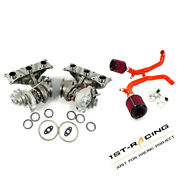 Billet 17t 6+6 Turbos Bmw 135i 335i Xi 535i Xi 3.0l N54 700hp+filters Air +inlet