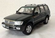 There's Little Translation. 1/18 Toyota Land Cruiser Lc100 Minicar Dark Lankle
