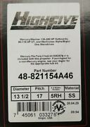 Mercury High Five Stainless Steel Prop 48-821154a46 17pitch