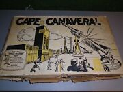 Rare Vintage 1960s Marx Cape Canaveral Playset .