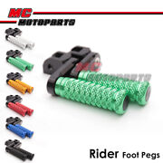 40mm Adjustable M-grip Front Footpegs For Monster 600 /620 /dark All Year -mc