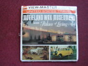 Movieland Wax Museum 1  View-master Mint Sealed Reduced 6/19pm