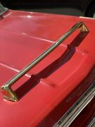 New 24k Gold 1962 Chevy Chevrolet Impala Accessory Front Grill Bumper Guard