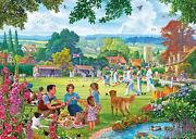 Gibsons Bowling By The Brook Jigsaw Puzzle 100 Xxl Pieces Pieces