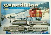1997 Athearn Expedition Train Set Amtrak F7a And 3 Passenger Cars Ho Scale 1060