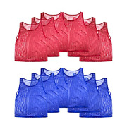 Super Z Outlet Nylon Mesh Scrimmage Team Practice Vests Pinnies Jerseys For
