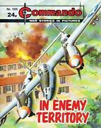 Commando For Action And Adventure Comic Book Magazine 1935 In Enemy Territory