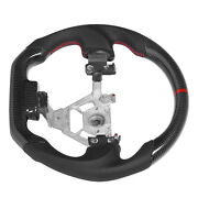 Custom Carbon Fiber Steering Wheel Nappa Perforated Leather For 350z 2008