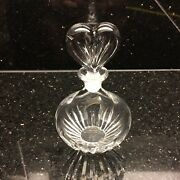 Marquis By Waterford - Perfume Bottle Lead Crystal Decoration -