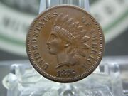 1876 Indian Head Cent Penny 1c 3 East Coast Coin And Collectables, Inc.