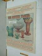 Antique Trader Weekly Jan. 9 1973 Mckee Glass Bottle Collecting