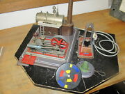 Vintage Wilesco Steam Engine And 2 Accessories As Pictured.