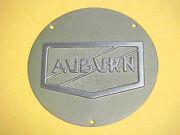 Auburn Hubcap Medallion Large Stamped 3-d 1930and039s