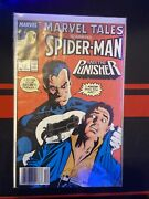 Marvel Tales Staring Spider-man And The Punisher Comic Book New