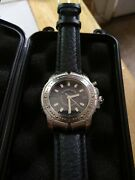 Co Menand039s Stainless Steel Streamerica Menand039s Automatic World Time...