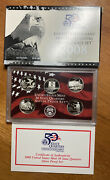 2008 Us Mint Silver 50 State Quarter Proof Set With Box And Coa