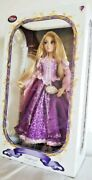 Disney Store 17 Tangled Purple Rapunzel Limited Edition Doll Nwt 5000