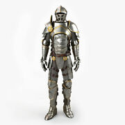 Medieval Armour Costume 3d Knight Plate Full Body Armor Suit Antique Collection