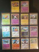 Pokemon 25th Anniversary General Mills Complete Holo + Base Set 14 Cards Total