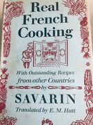 Vtg Real French Cooking Cook Book Savarin Classic
