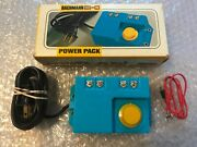 Bachmann Ho And N Scale Model 6605 Electric Railroad Power Pack Hobby Transformer