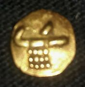 India Pagoda Small Gold Coin 16th Century 0.0148 Troy Oz