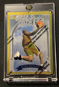 1996-97 Kobe Bryant Topps Finest Gold Heirs Rookie Rc With Peel Lakers 269
