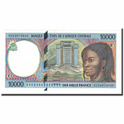 [647123] Banknote Central African States 10000 Francs 2000 Km605pf
