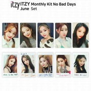 Itzy No Bad Days Monthly Kit June Official Photocard And Exclusive Polaroid Kpop