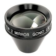 Two Mirror Gonio Lens Viewing Anterior Chamber Angle Central Two Mirror Set Of 2